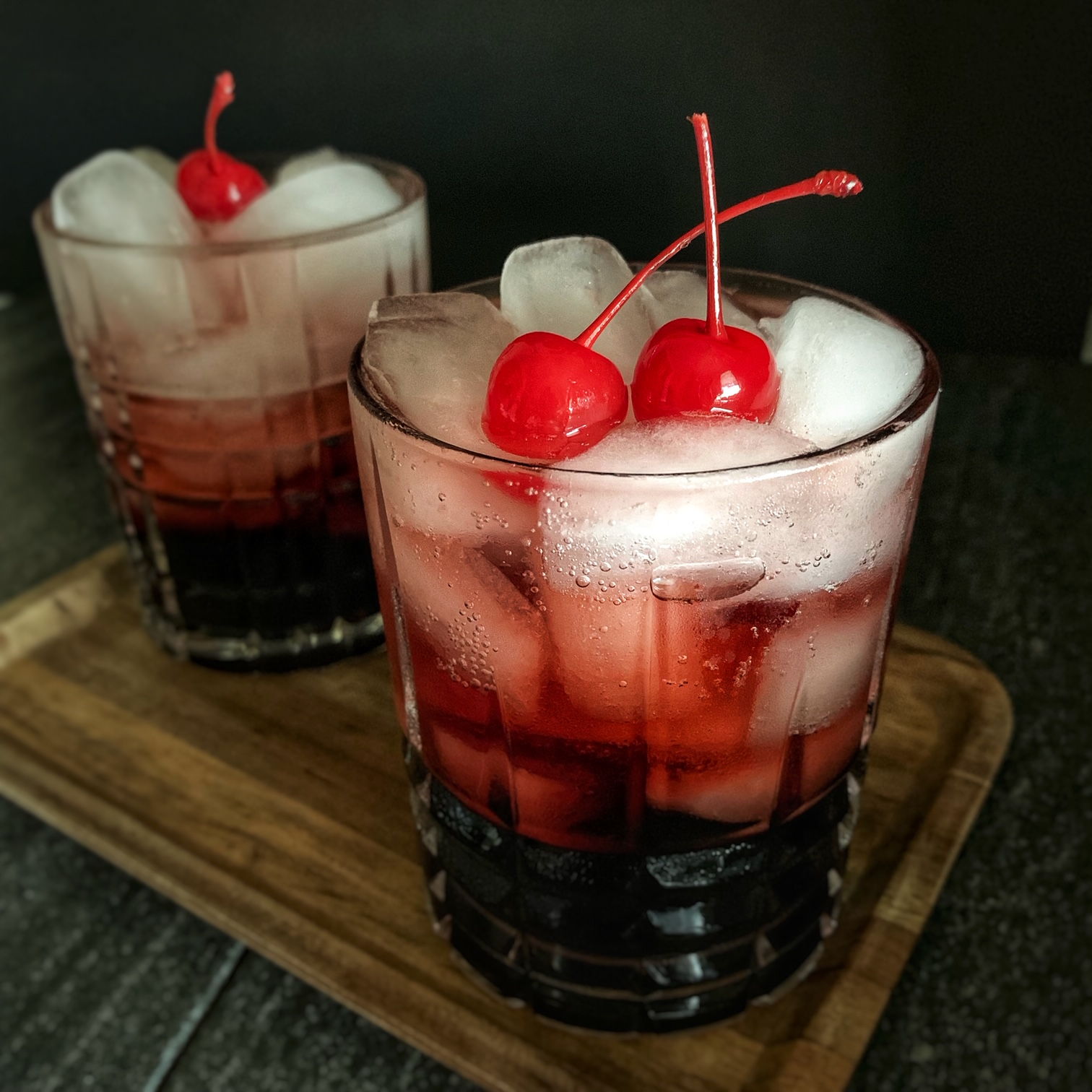 Spine-Chilling Cherry Cocktail
