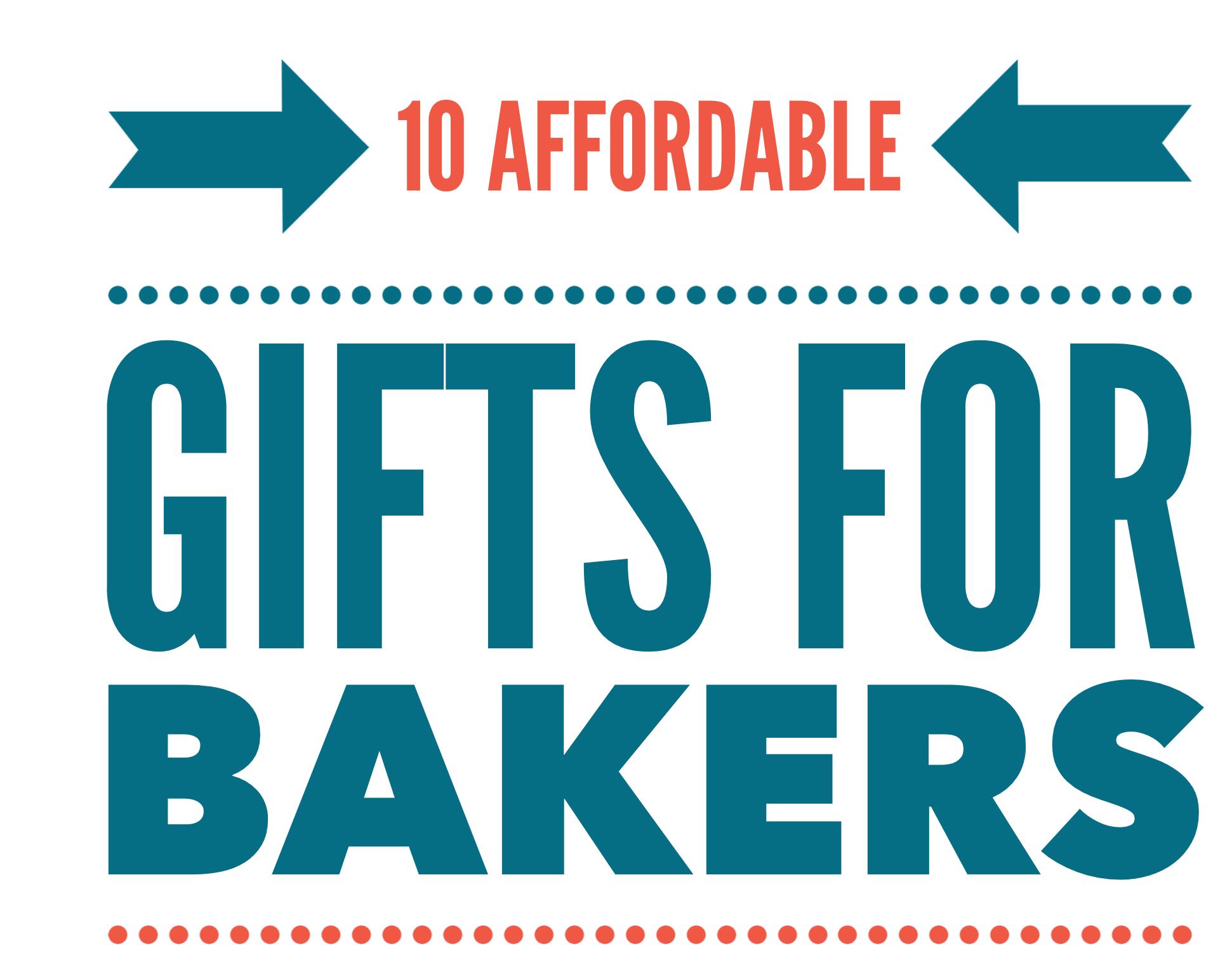 10 affordable gifts for bakers